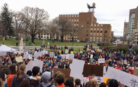 Thousands of High School Students Rally At Capitol for Gun Legislation