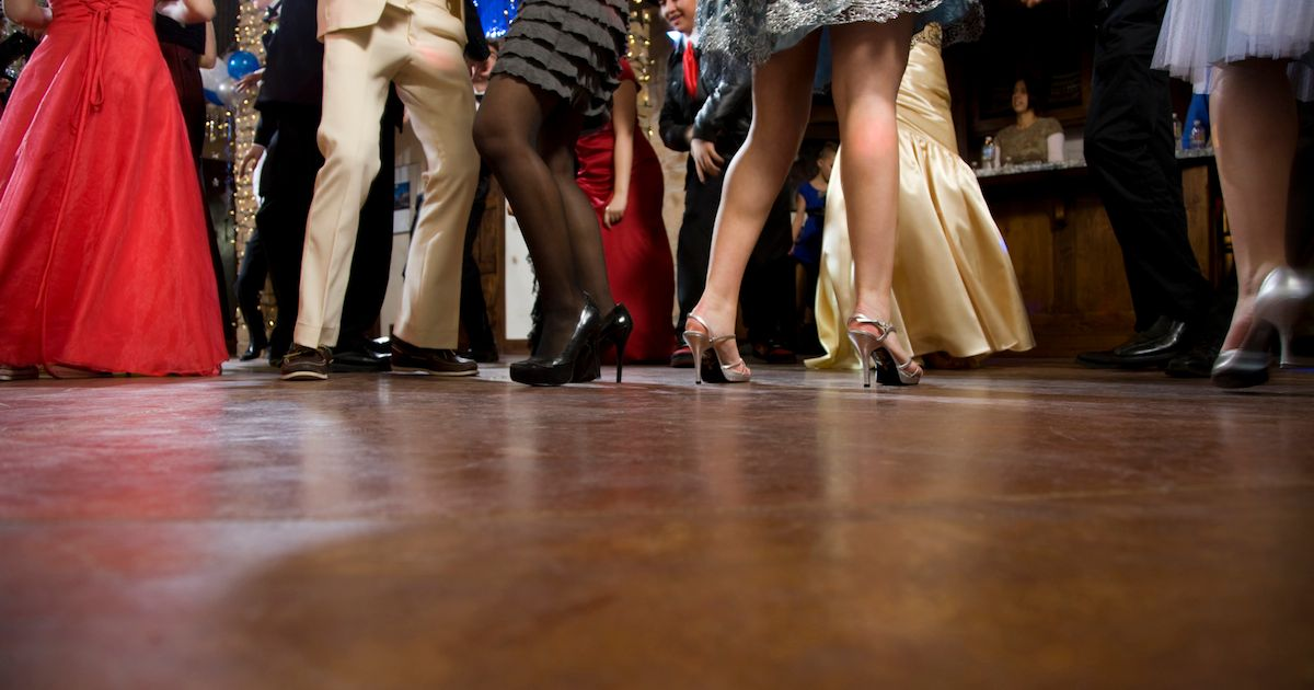Prom is a chance for you to get some fashion ideas! Photo credit: The Mirror