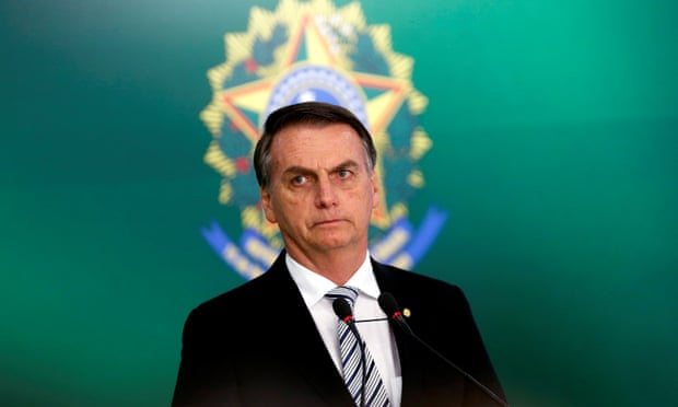 Brazil's President-Elect, Jair Bolsonaro, will assume office on January 1st, 2018.  (Adriano Machado/Reuters)