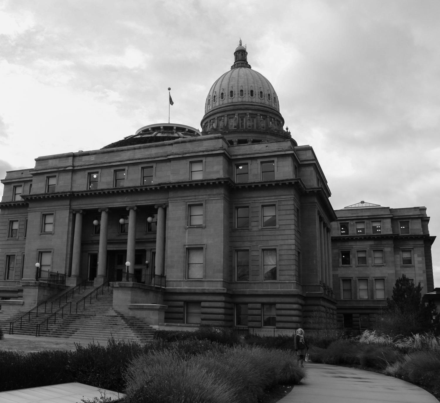 The Idaho State Capitol Building in Boise, Idaho