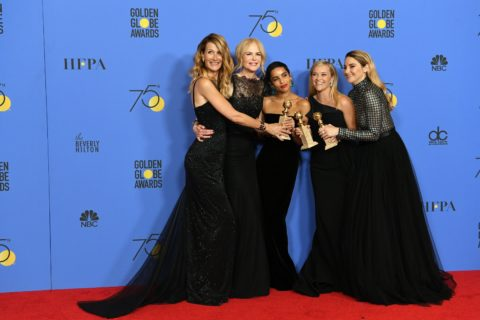 The cast of Little Big Lies at the 2018 Golden Globes.