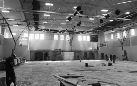 New Gym Under Construction