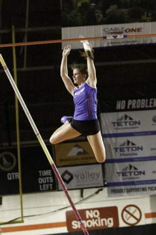 Vaulting Into New Territory:  Senior Maya Maloney Takes on School Records