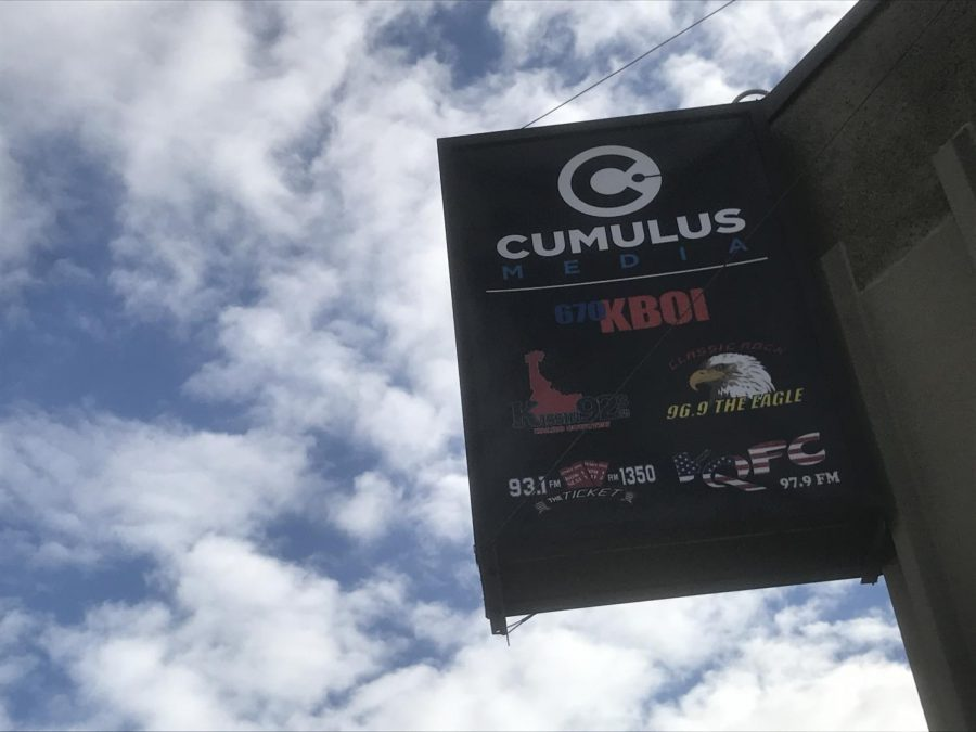 The+Cumulus+office+in+downtown+Boise+that+broadcasts+local+radio+stations.