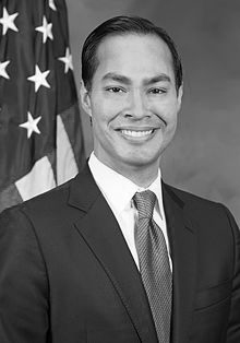 Julian Castro, one of the many 2020 presidential election candidate running as a Democrat.