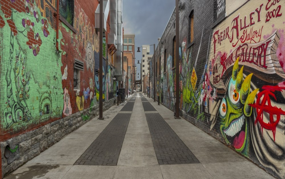 Freak Alley, which is coming under new leadership, is Boise's most popular art attraction. (Louis Ruth Photography)