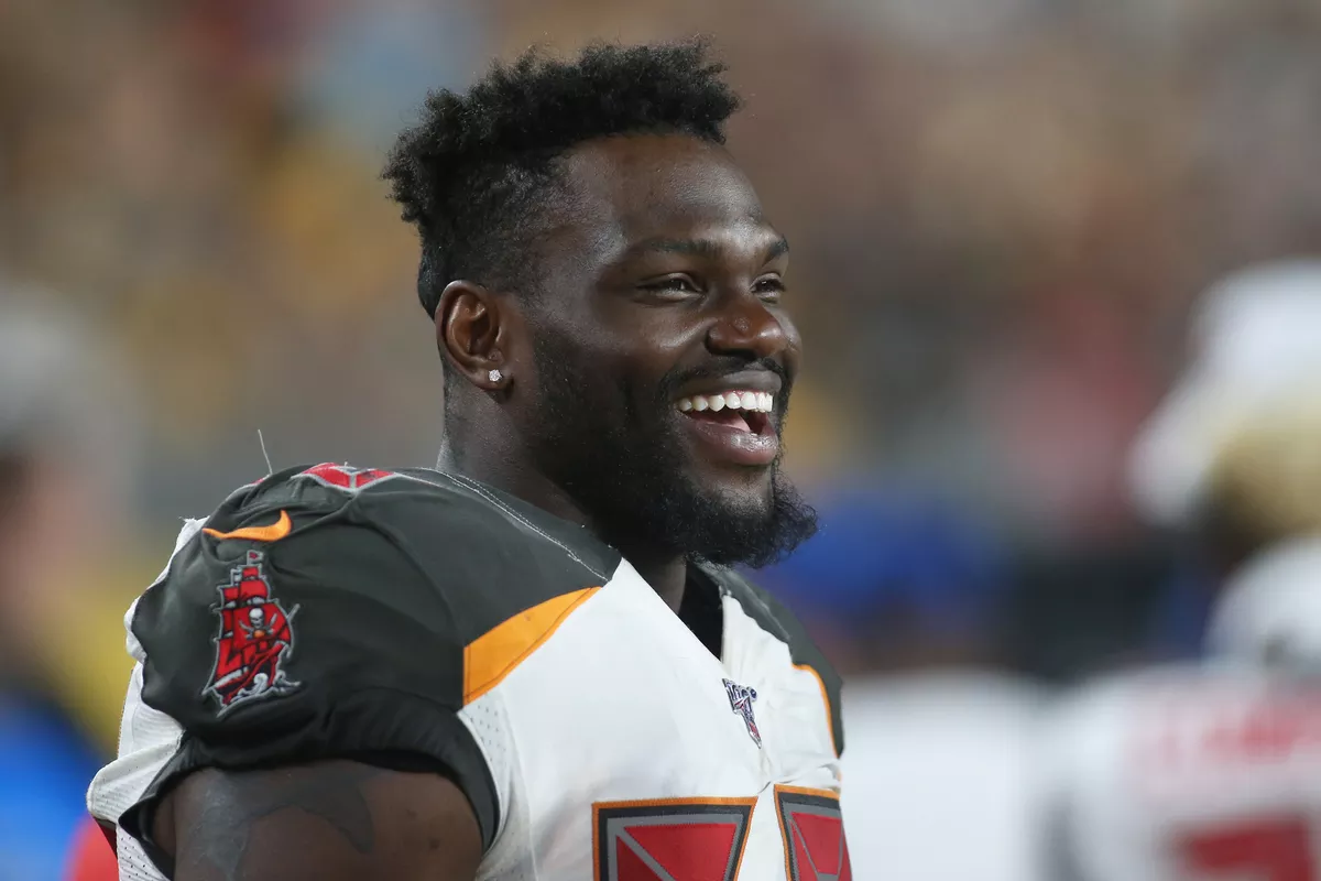 Shaquil Barret has loudly introduced himself to the NFC south