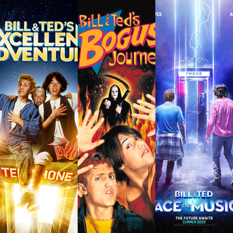 Photo Credit: Orion Pictures.  Bill & Ted Face the Music has finally completed its trilogy of films.
