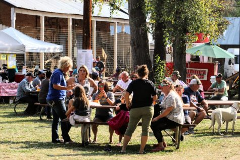 Idaho City residents gather together for a festival. A small community is taking big steps during this pandemic.