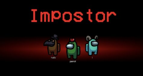 There are one to three imposters in this game, this is the screen that tells the player whether they will be an imposter or a crewmate. (Moesha Aplicano-Burnham)