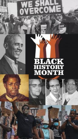 A montage of different inspirational black figures and events that have made great change to the United States history.