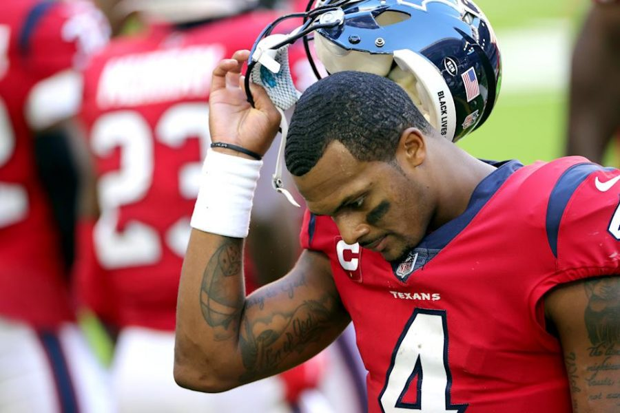 """""""I love Deshaun Watson as a player, he is fantastic and a pure joy to watch. But when you do something like this, something so unforgivable, it shakes how much you enjoy about the player, and the game he displays on the field."""" (getty images)"""