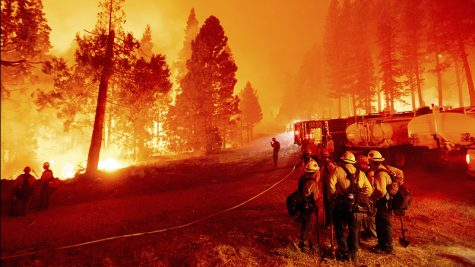 Fires burn big throughout Lake Tahoe causing firefighters to work overtime.